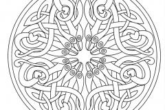 Mandala a colorier zen relax gratuit (12)