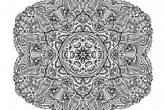 Mandala a colorier zen relax gratuit (13)