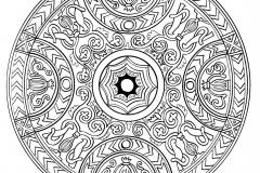 Mandala a colorier zen relax gratuit (14)