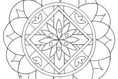Mandala a colorier zen relax gratuit (15)