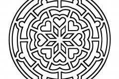 Mandala a colorier zen relax gratuit (16)