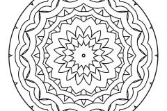 Mandala a colorier zen relax gratuit (17)