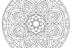 Mandala a colorier zen relax gratuit (18)