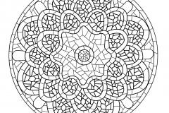 Mandala a colorier zen relax gratuit (19)