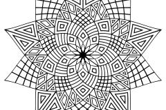 Mandala a colorier zen relax gratuit (20)