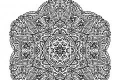 Mandala a colorier zen relax gratuit (21)