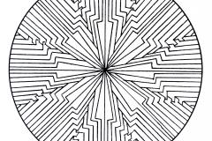 Mandala a colorier zen relax gratuit (22)
