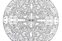Mandala a colorier zen relax gratuit (25)