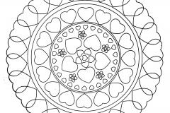 Mandala a colorier zen relax gratuit (26)