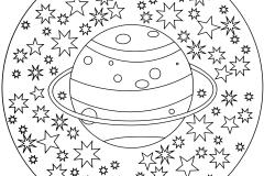 Mandala a colorier zen relax gratuit (27)