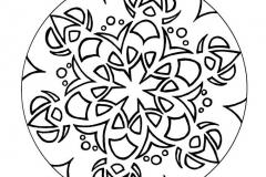 Mandala a colorier zen relax gratuit (28)