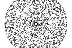 Mandala a colorier zen relax gratuit (4)