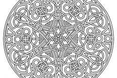 Mandala a colorier zen relax gratuit (7)