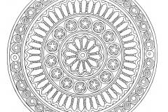 Mandala a colorier zen relax gratuit (8)