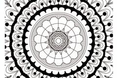 Mandala a colorier zen relax gratuit (9)