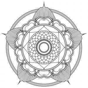 Mandala fleur par MPC Design