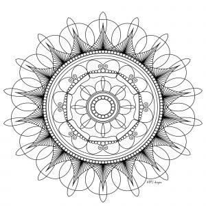 Mandala déstressant