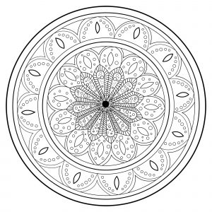 Mandala Anti stress relaxant