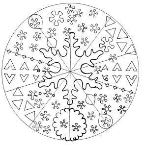 Simple Mandala par Domandala