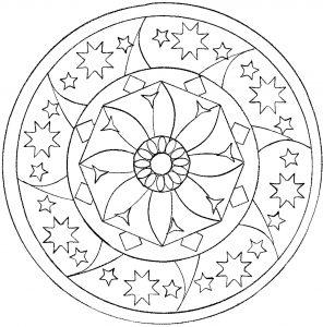 Mandala déstressant par Domandala