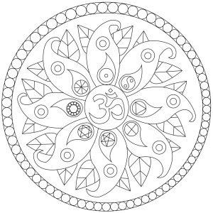 Mandala de la paix