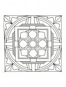 "Mandala ""Art Thérapie"""