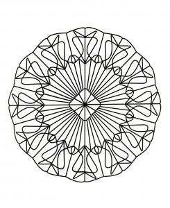 Mandala magnifique